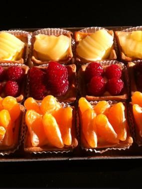 Plateau Assortiment Mini Tartelettes de Soirée 12 pièces (4 personnes)