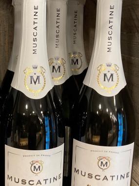 Muscatine Fines Bulles, Vin de France, Effervescent Doux